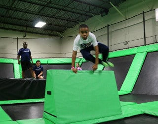 Parkour Training and Fun Attractions in Greensboro