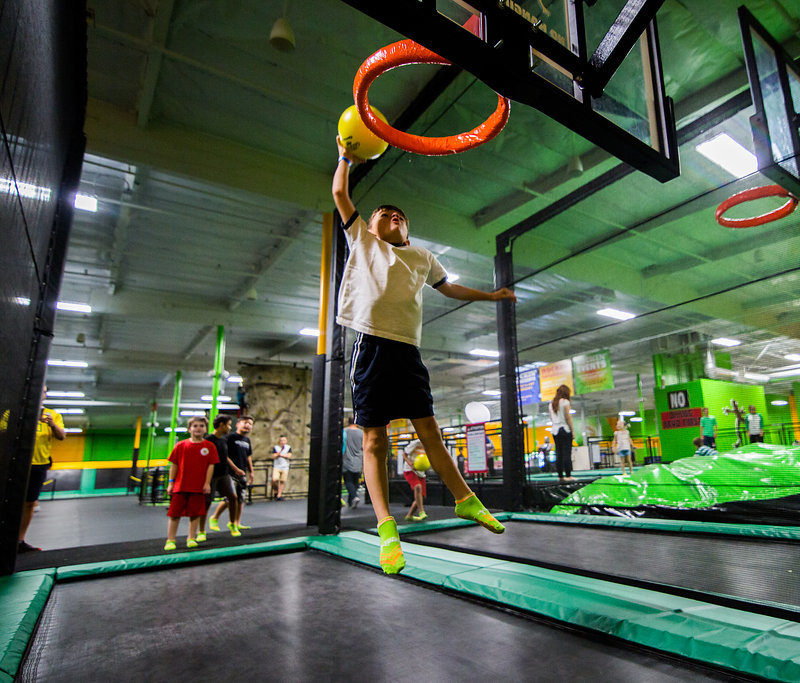 Trampoline Park Rockin Jump Orange County Homeschool 1