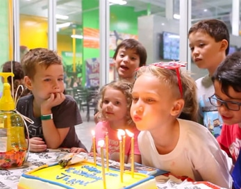 kids platinum birthday party