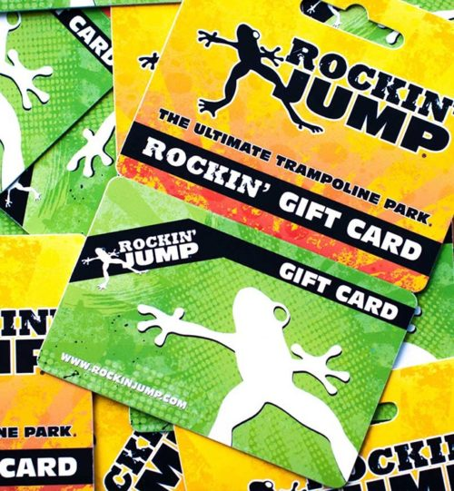 Trampoline Gift Card Prices